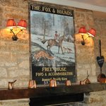 Fox and Hounds interior