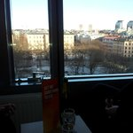 View over Norra Bantorget from the room