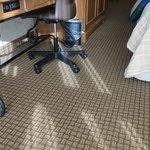 carpet is clean