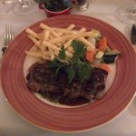 The 'l'entrecote couronnee'