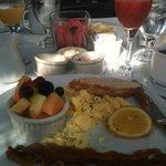 The American -- a breakfast choice -- delicious and complimentary!