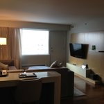 Suite- Living room with TV
