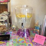 EASTER DEC WITH COLD ICE WATER, N COOKIES