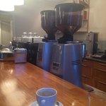 Dbl espresso, 2 Mazzers and a La Marzocco
