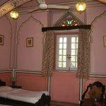 Bedroom in the garden cottages