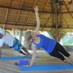At levels of Yoga