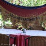 Detalle de adorno restaurante