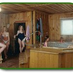 Whirlpool and Sauna