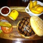 mmm burger!