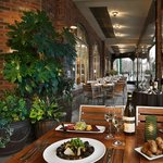Trellis Restaurant Outdoor Dining