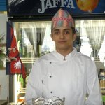 Staff in Nepali Dhaka Topi.
