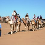 camel ride near Borj Baroud