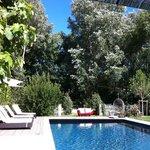 Chambre d´hôtes Carcassonne, piscine extérieure