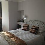 Tastefully decorated bedroom
