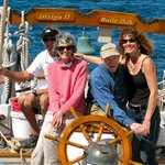 "Family reunion aboard the Schooner ""Dirigo II""!"