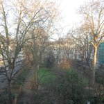 Vistas desde la habitación a Kensington Gardens