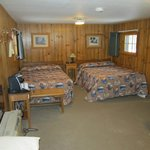Frontier Cabin double beds