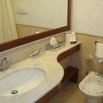 O banheiro da suíte