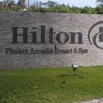 Hilton Sign