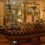 A Beautiful Model Ship