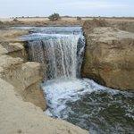 Waterfall in Fayyoum Oasis