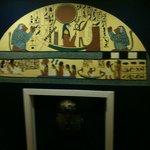 Egypt room door