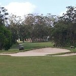 The 17th - fairway bunkers! Nice course, clubhouse and local
