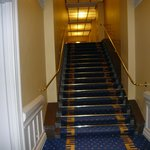 Architectural speed bump for guests