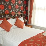 The lovely double bed