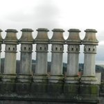 Inverness with elegant chimney stacks
