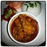 devil chicken curry