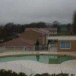 piscine (attention: photo prise en hiver !)