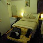 The Bedroom, Amazing bed.
