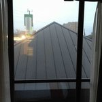 Room with a view...of a roof!