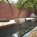 Tranquility court and pool