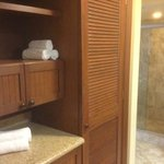 towels/closet/shower