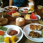 Baan Orapin Thai style breakfast