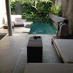 pool villa Bali Mandira
