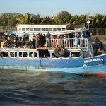 Sea-sick prone smaller boat