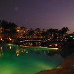 lovely pool at night