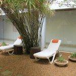 chill zone...the spa garden...
