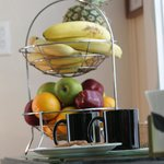 Coffee and fruit always available in our lobby