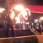 Caribean night- fire show