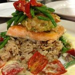 Artic Char with Crab Cake