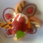 Grilled Palisade Peaches