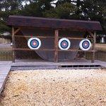 Archery was so much fun!