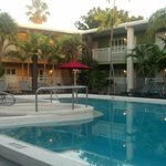 Best Western Hibiscus, Pool area