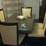 Large extra dining area in Extended Executive Suites