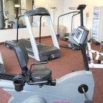 24-hour fitness room