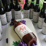 Personalized Wine Bottle Favors
